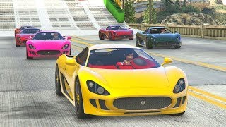 LACHLAN JOINS! - GTA 5 Funny Moments #724