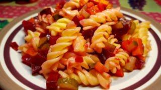 Простейший салат для ежедневного приготовления ( постный ) но попробовать стоит!!!