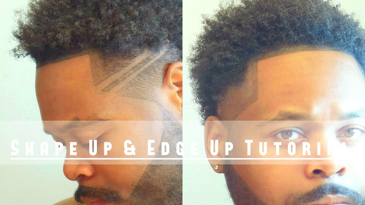 How To Line Up Shape Up Edge Up Your Own Hair Tutorial Youtube
