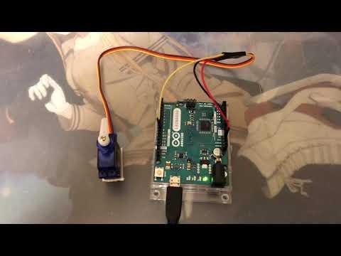 Arduinoでサーボモータをゆっくり動かす