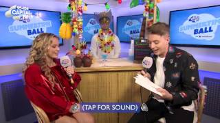 Zara Larsson with Roman Kemp - interview at Capital's Summertime ball 2017