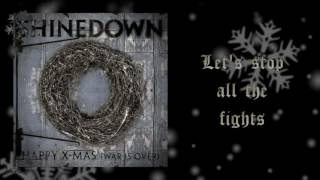 SHINEDOWN - HAPPY X-MAS (WAR IS OVER) - Lyric Video