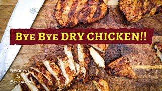 how to GRILL AMAZING CHICKEN Breasts recipe - NO MORE DRY CHICKEN!!