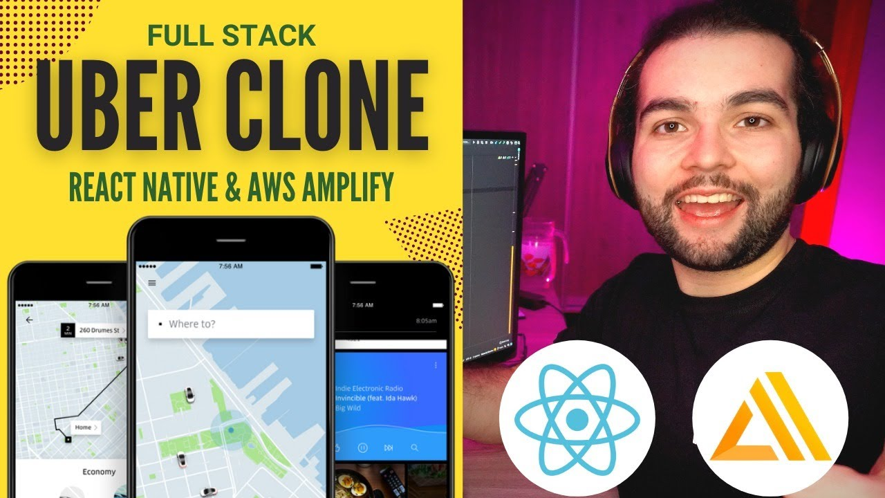 Build the Uber Driver App in React Native & AWS Amplify (Tutorial for Beginners)