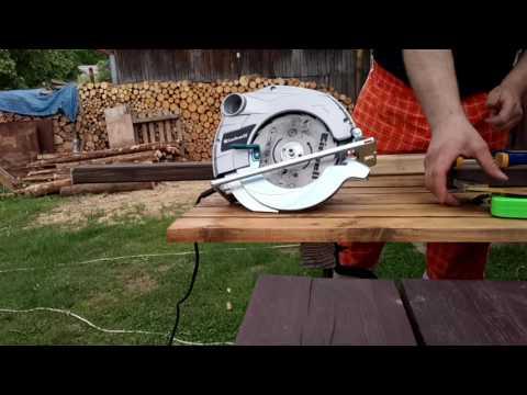 Einhell BT-CS 1400/1 Circular Saw and Wood Cutting