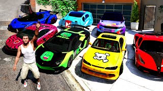 GTA 5 - Finding FAMOUS YOUTUBER CARS!