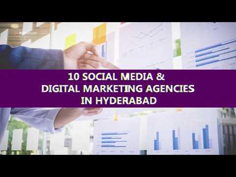 10 Social Media & Digital Marketing Agencies in Hyderabad || Topcount