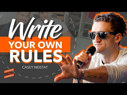 Casey Neistat On Writing Your Own Rules - With Lewis Howes
