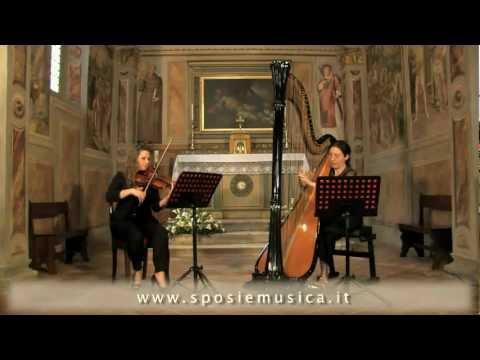 Cantata 147 - J.S.Bach - Musica per matrimoni violino arpa
