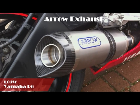 Top 9 Full Exhaust Sound Yamaha YZF - R6 / Akrapovic, M4, Yoshimura, LeoVince, Toce