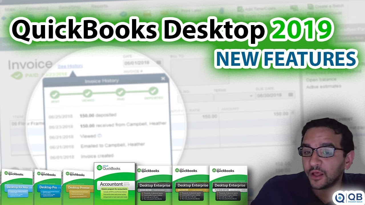 QB Power Hour: What's New in QuickBooks Desktop 2019