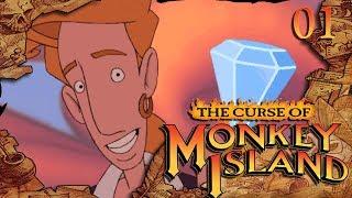 """Душевное прохождение The Curse of Monkey Island...""""Лучшее предложение руки и сердца""""...E01"""