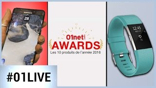 01LIVE HEBDO #115 : Galaxy Note  7, 01net Awards, Fitbit Charge 2