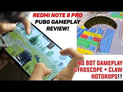 Redmi Note 8 Pro - PUBG MOBILE GAMEPLAY REVIEW! All settings, HDR, Temperature!