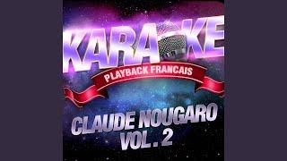 Bleu Blanc Blues — Karaoké Playback Instrumental — Rendu Célèbre Par Claude Nougaro