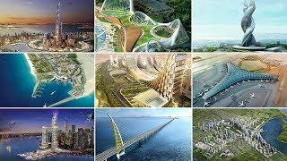أضخم 10 مشاريع مستقبلية في الكويت | منها مدينة الحرير  و  جسر جابر ....