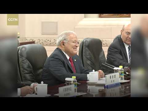 Li Keqiang calls for pragmatic cooperation and closer ties with El Salvador