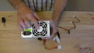 Как заменить вентилятор в блоке питания