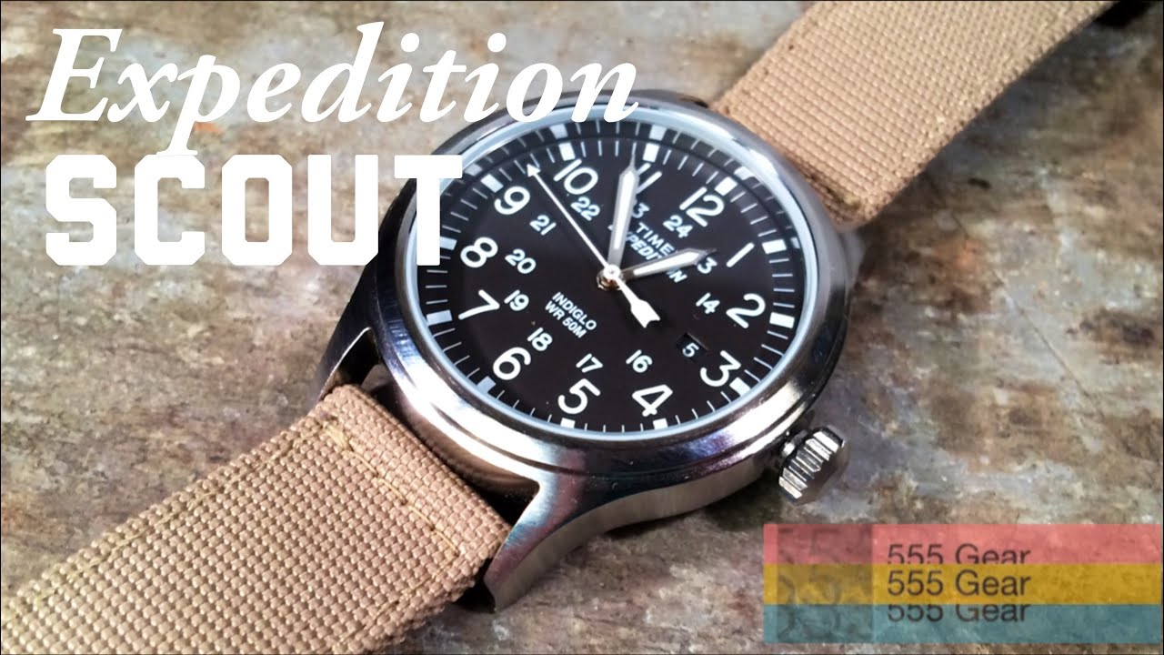 Review Timex Expedition Scout Watch Quot Affordable Heritage