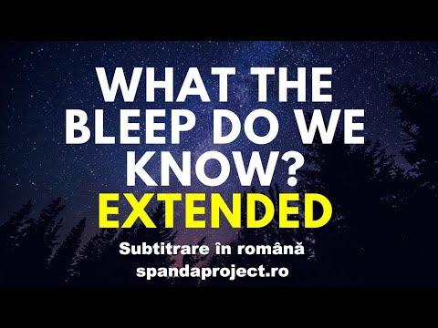 What the bleep do we know [Ce știm noi de fapt?] - versiunea extinsă, RO sub - part 1