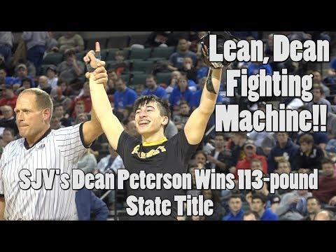 St. John Vianney's Dean Peterson Wins 113-pound NJ State Title