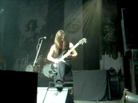 Isaac Delahaye Solo - Martyr Of The Free Word / Epica Chile 2010