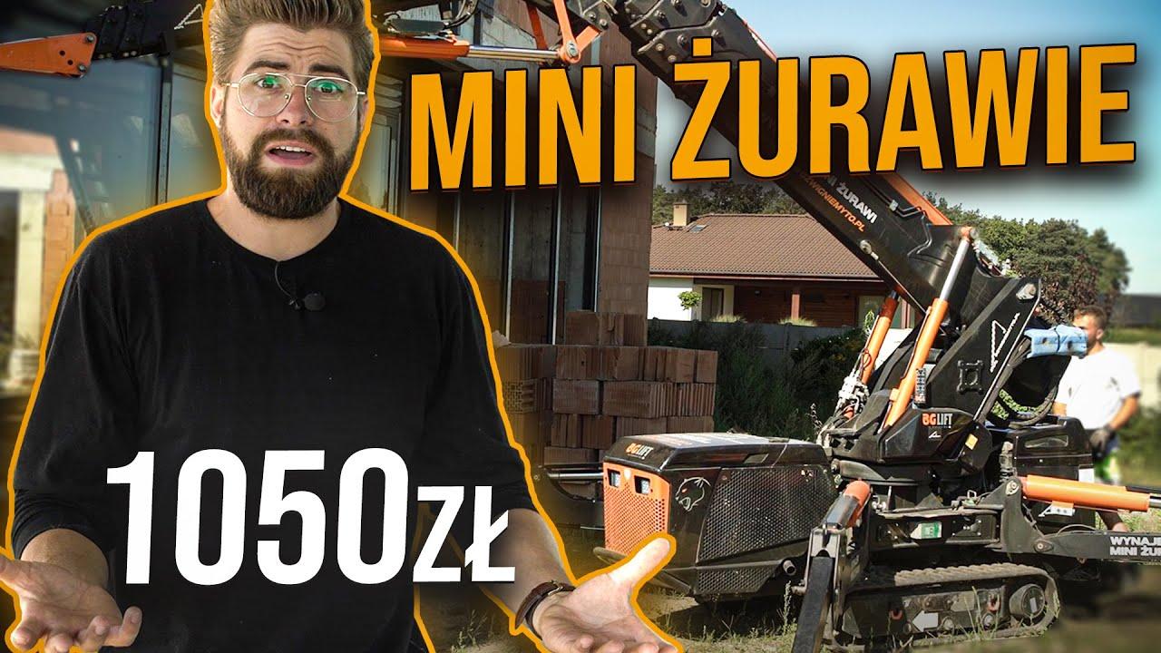 1050zł za 5h pracy? OPERATOR MINI ŻURAWIA | DO ROBOTY