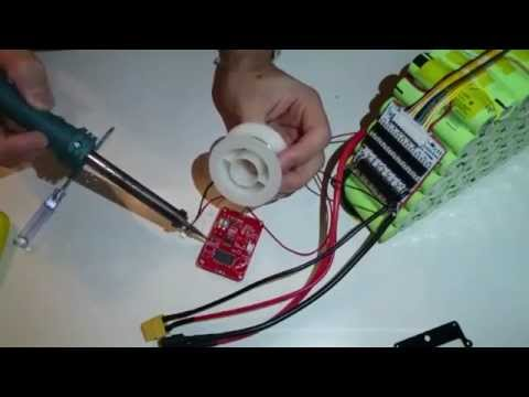 BMS installation on a 10s7p 36V 18650 liion battery pack (Live video)  YouTube