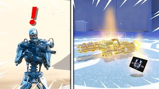 NEW Terminator BOSS & MYTHIC WEAPON Locations in Fortnite!