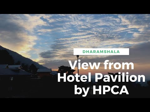 View From The Pavilion Hotel By HPCA, Dharamshala,Himachal Pradesh