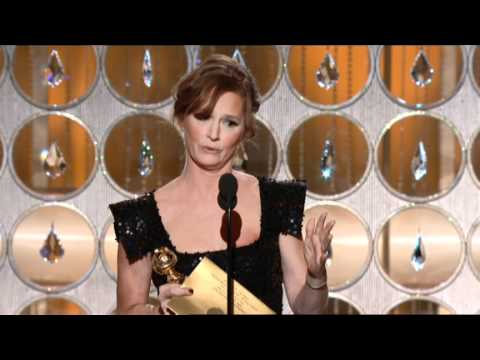 Melissa Leo Wins Best Supporting Actress Motion Picture - Golden Globes 2011