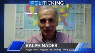Ralph Nader joins Larry King on PoliticKING | Larry King Now | Ora.TV