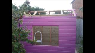 Converting An Old Shed Into A Playhouse