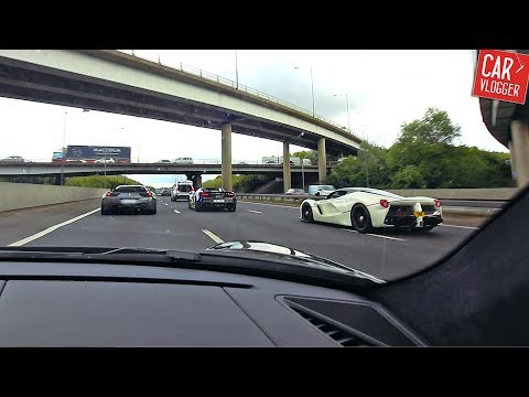 CHASING HYPERCARS in LONDON | LaFerrari Agera R Performante