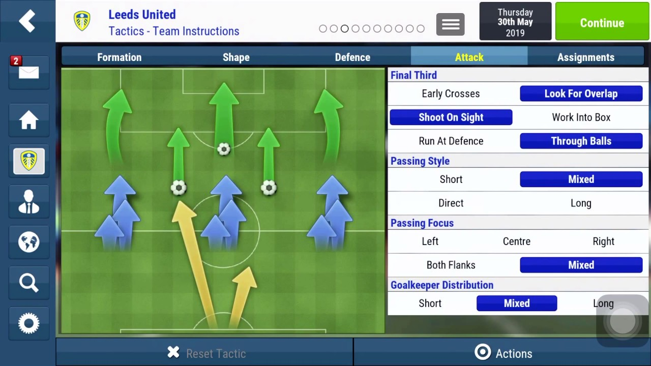 FMM18 Football Manager Mobile 2018 Best Tactics 4123