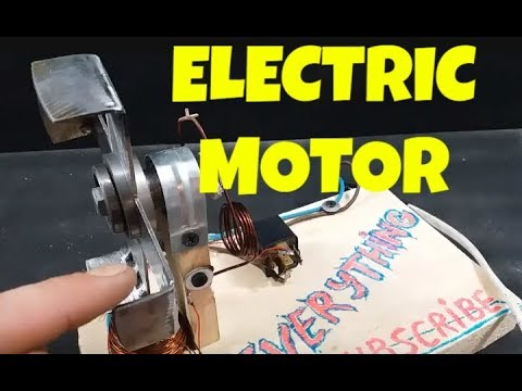 How To Make Amazing Electric Motor Youtube