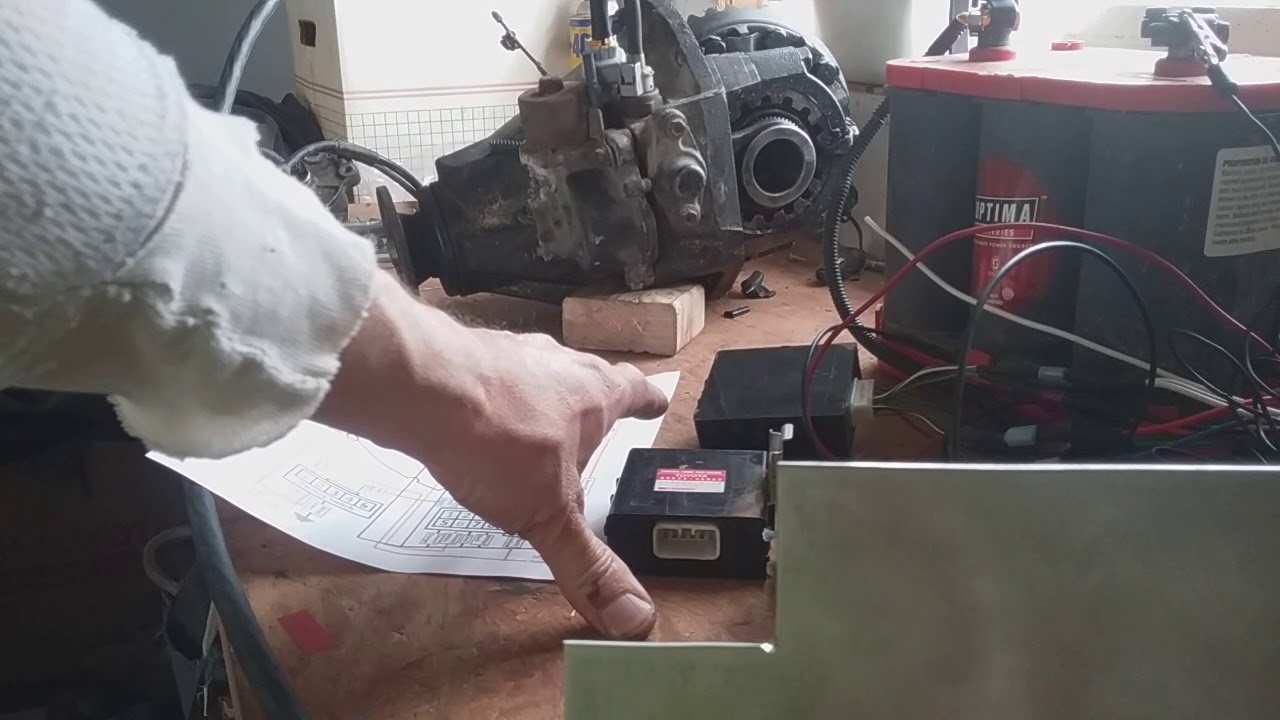 toyota e locker wiring with factory ecu and switch