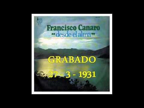 FRANCISCO CANARO-DE PURO GUAPO- TANGO