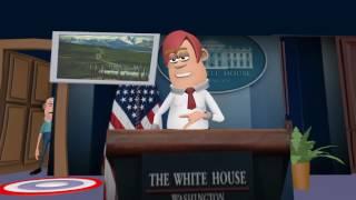 Trump Speech Whitehouse Press Gallery Part 2
