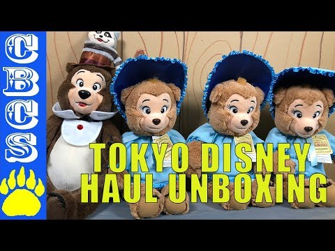 TOKYO DISNEY HAUL UNBOXING - Country Bear Collector Show #SE008