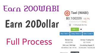 Get 20 Dollar Instantly, Earn 200WABI token already Exchange listed,CEX Exchange site