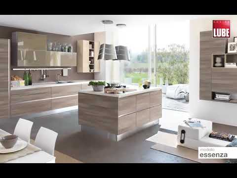 Essenza by Cucine Lube - YouTube