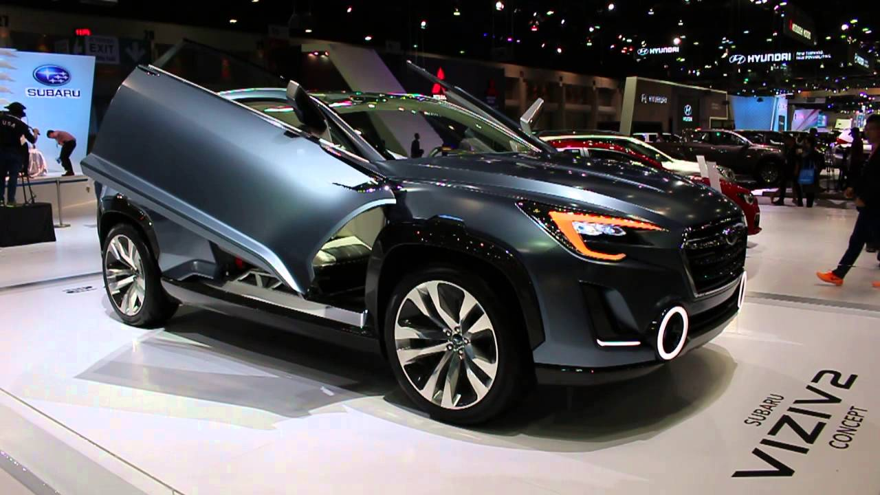 Subaru VIZIV 2 Concept Open Door