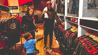 Torrey Smith WPMOY Shopping Spree for Fans