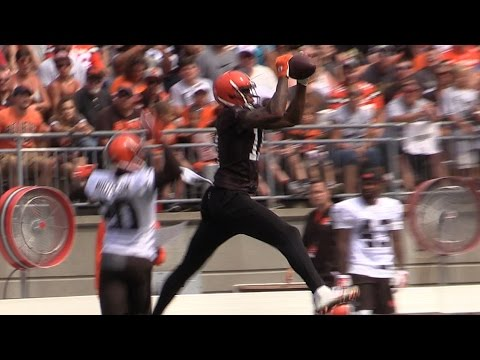 Cleveland Browns' Orange and Brown Scrimmage at Ohio State (videos)