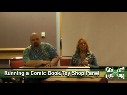 Running a Comic Book Shop Panel - GCCC 2017