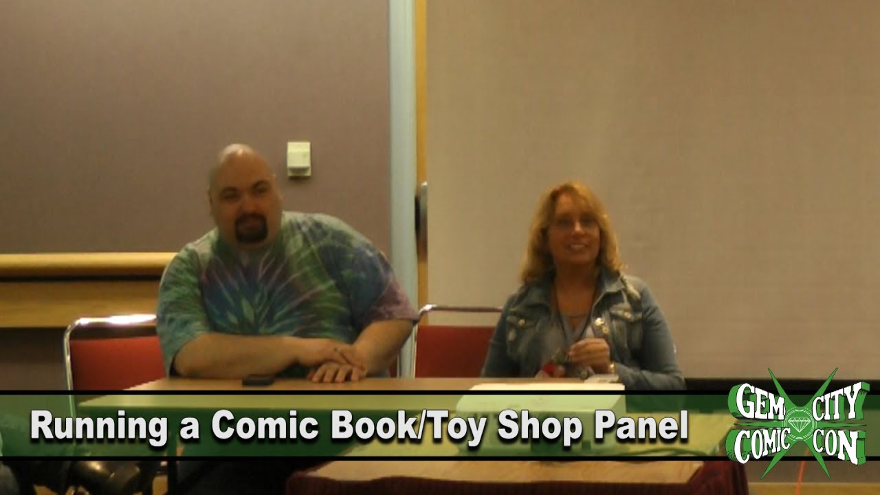 Running a Comic Book Shop Panel – GCCC 2017