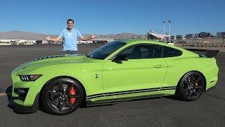 shelby GT500 2020 года - это величайший Ford Mustang за 100 000