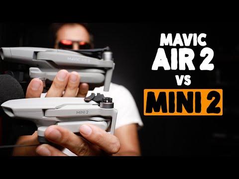 Mini 2 vs Mavic Air2 [$450€ vs $799€] Cúal Comprar?, Dónde esta la diferencia? 🧐