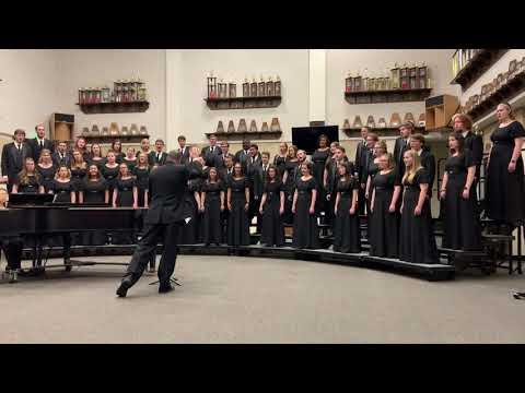 "Oklahoma Christian University Chorale 2019 Tour ""Stars I Shall Find�"